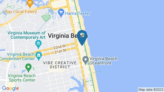 Holiday Inn Oceanside- VA Beach, an IHG Hotel Map