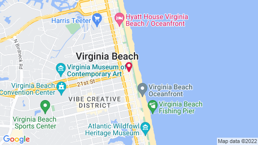 Sea View Hotel Map