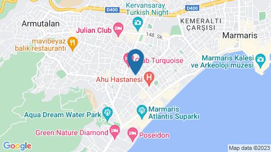 Club Amaris Apartment Map