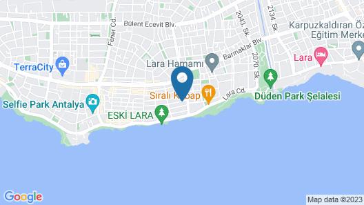 The Mori Club Hotel Map
