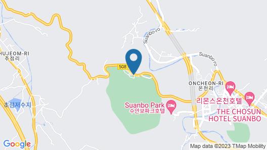Healingnsajo resort Chungju Suanbo Map