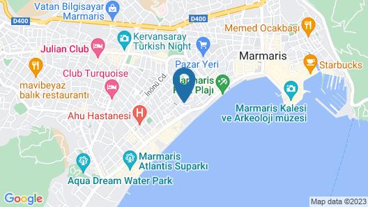 Yuvam Hotel Marmaris Map