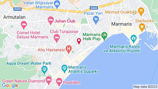 Moni Hotel Map