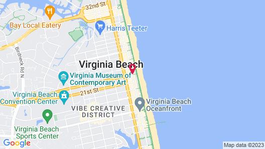 Marjac Suites Virginia Beach Oceanfront Map