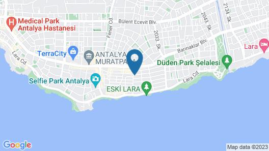 Azuu Hotel Map