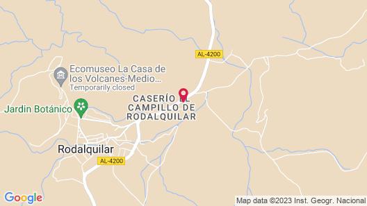 Hotel de Naturaleza Rodalquilar Spa Cabo de Gata Map