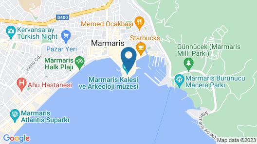 8 Oda Boutique Homes Map