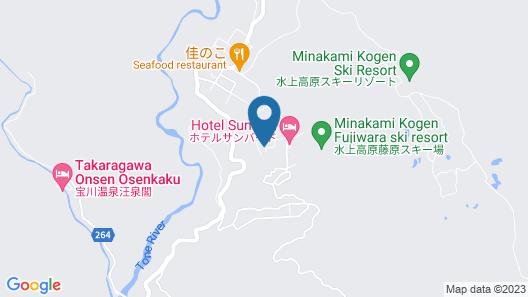 Onsen Pension Hanasakiyama Map