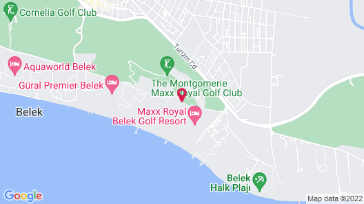 Adam & Eve - All Inclusive - Adults Only Map