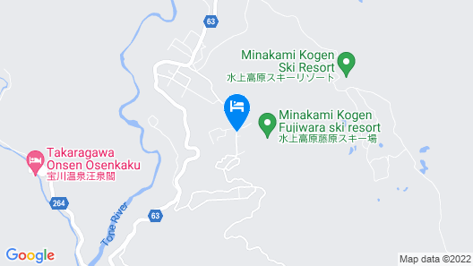 Okutone Onsen Hotel Sunbird Map