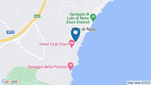 Hotel Club Helios Map