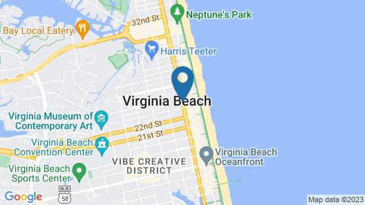 Ocean Cove Motel Map