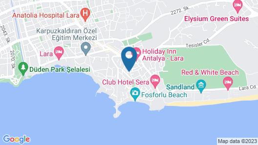 Lara Kapris Hotel Map