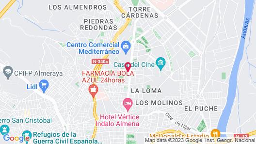 Hotel Sercotel Gran Fama Map