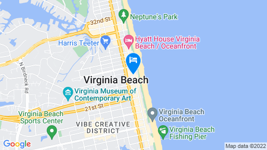 Ocean Holiday Map