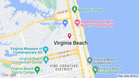 Beach Spa Bed and Breakfast Map