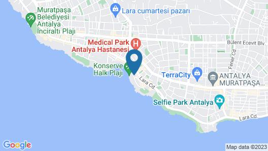 Orange Park Hotel Map