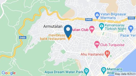 Club Alpina Apartments Map