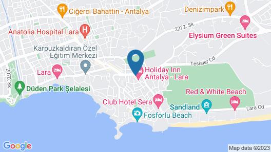 Holiday Inn Antalya - Lara, an IHG Hotel Map
