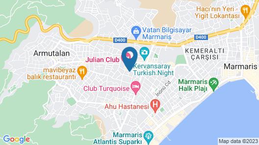 Sun Apartments Map