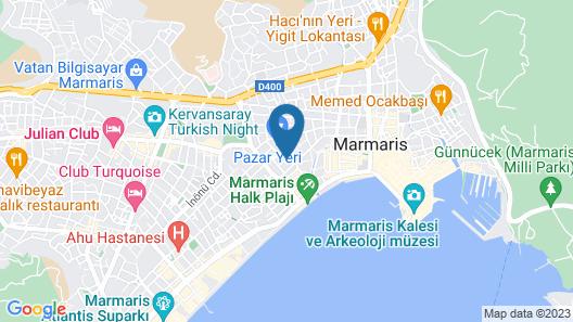 Rosy Apart Map