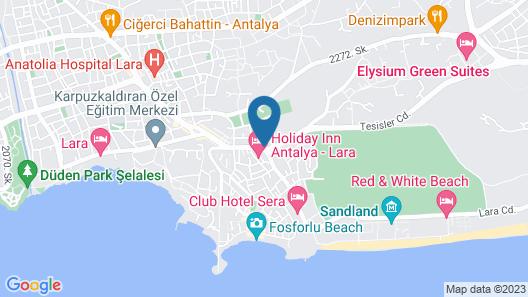 Nurella Pansiyon Map
