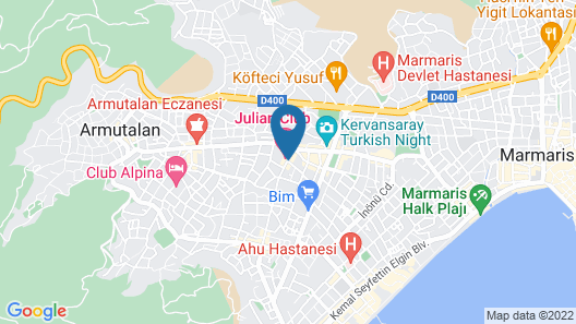 Julian Club Hotel - All Inclusive Map