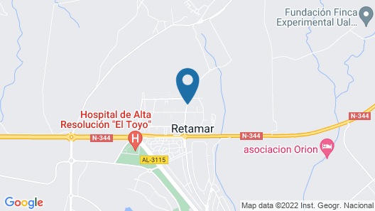 Bed & Breakfast in a House / Villa - Retamar Guest House Map