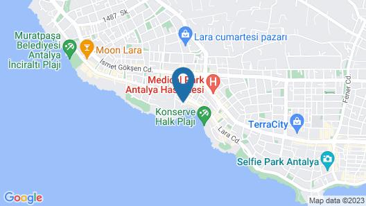 Bilem High Class Hotel Map