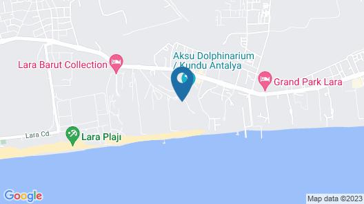 Delphin Be Grand Resort - All Inclusive Map
