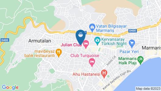 Club Viva Hotel Map