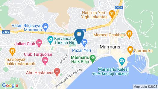 Marsyas Hotel Map