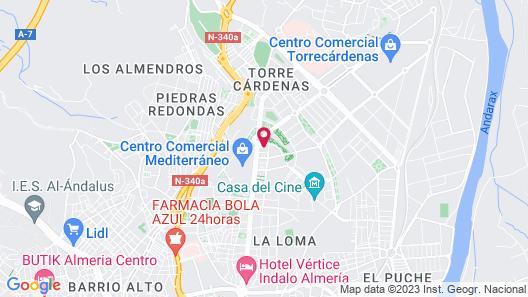 Elba Almería Business & Convention Hotel Map