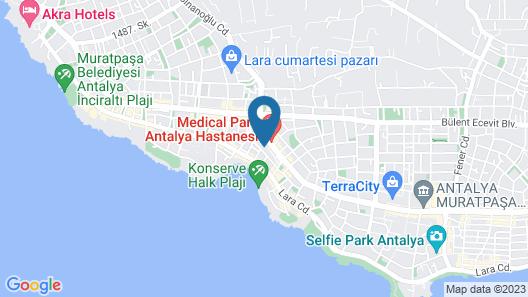 Elanis Suites Map