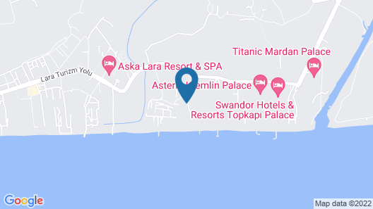 IC Hotels Residence - All Inclusive Map