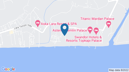 IC Hotels Residence Map
