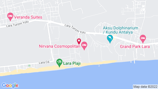 Lara Barut Collection - All Inclusive Map