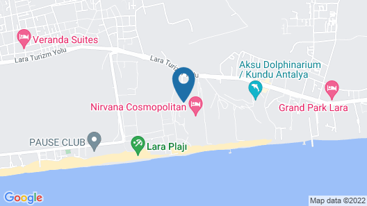Lara Barut Collection - All Inclusive Map