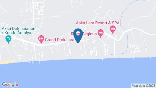 Crystal Centro Resort Map