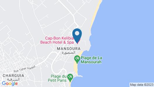 Cap Bon Kelibia Beach Hotel & SPA Map