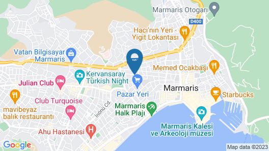 Club Karakas Apart Map