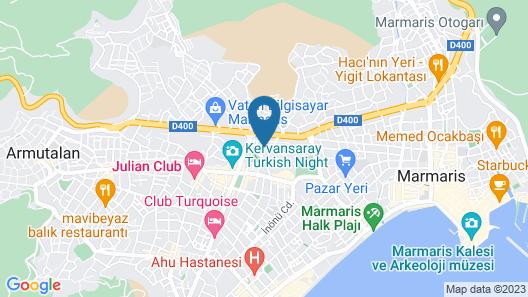 Club Exelsior Map
