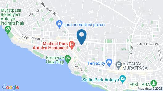 BMK Suites & Apartments Map