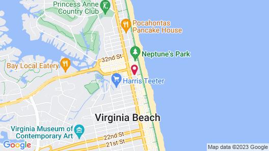 Breeze Inn & Suites Map