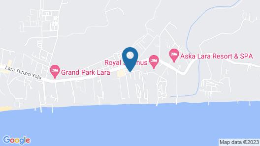 Liberty Hotels Lara - All Inclusive Map