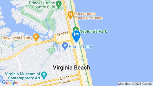 Oceanfront Inn Map