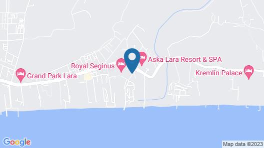 Adalya Elite Lara Hotel - All Inclusive Map