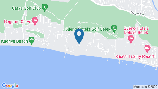 Papillon Belvil Holiday Village - All Inclusive Map