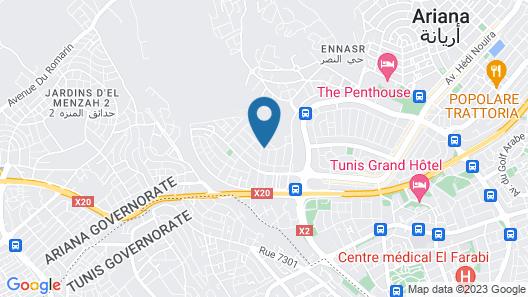 Dar Miramar Map