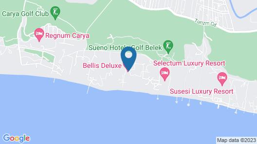 Bellis Deluxe Hotel Map